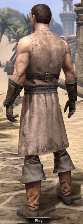 eso fashion blacksmith elder scrolls