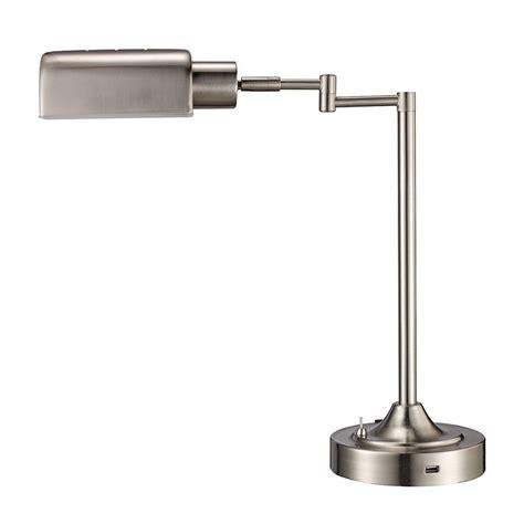 office depot led desk ls monteaux lighting 17 5 in brushed nickel led swing arm