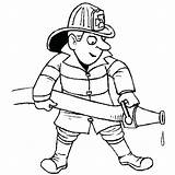 Community Helpers Coloring Fireman Fire Pages Fighter Hat Firefighter Extinguishing Drawing Street Printable Success Helper Colouring Print Jobs Netart Way sketch template