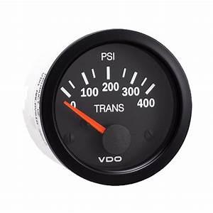 Vdo Gear Pressure Gauge 0-400 Psi