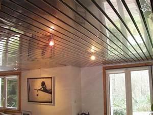 Pose Lambris Pvc Plafond Tasseaux : faux plafond lambris pvc salle de bain ~ Dailycaller-alerts.com Idées de Décoration