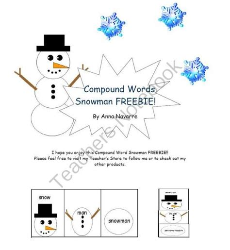 Snowman Compound Words
