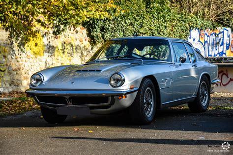 La Maserati Mistral, moins de 1000 autos pour une légende ...