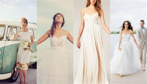 25 Beach Wedding Gowns