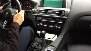 Bmw M6 F12 2013 - Manual Transmission In Action