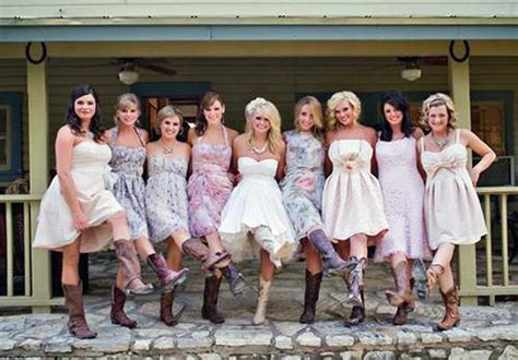 Country Wedding Dresses With Cowboy Boots 2013 Pictures