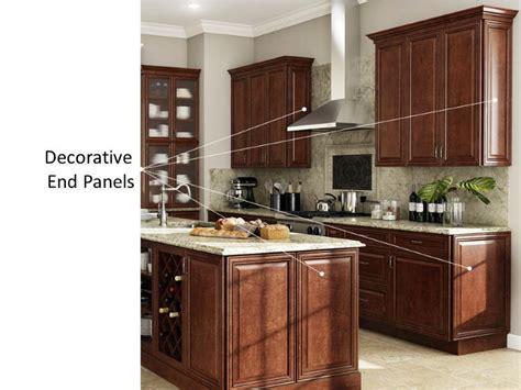 kitchen cabinet decorative panels hton bay designer series designer kitchen cabinets 5224