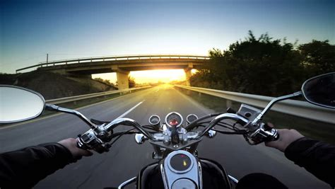 Motorcycle Stock Footage Video
