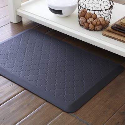 kitchen gel floor mats wellnessmats 174 trellis williams sonoma 4906