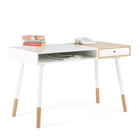 bureau bois et blanc bureau bois et blanc maison design modanes com