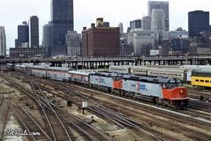 Amtrak Passenger Train Chicago
