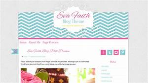 cute-wordpress-theme-premade-blog-design-pink-chevron | BD ...