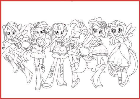 My Little Pony Equestria Girl Ausmalbilder