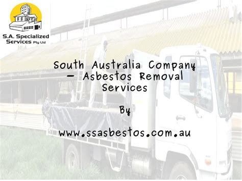 south australia company asbestos removal services