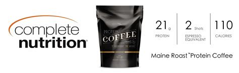 Amazon.com : Complete Nutrition Maine Roast Protein, Iced