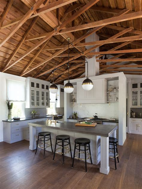 open rafters home design ideas pictures remodel  decor