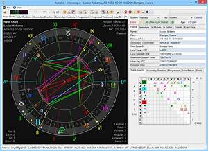 Astro Chart Software Download Astrallis Primary Directions Astrology Software