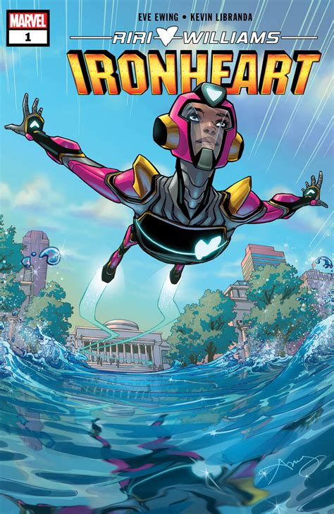 Marvel Announces Ongoing IRONHEART Series! – First Comics News