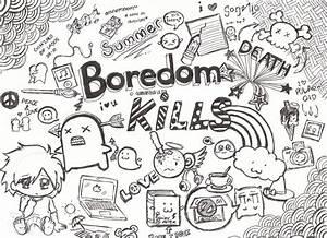 Boredom Kills Graphic