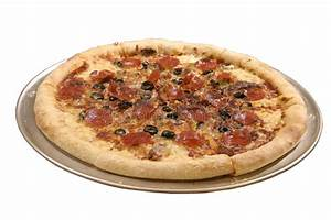 Isolated meat lovers pizza stock image. Image of junk - 2348257