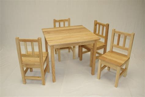 advantages of using wooden table and chair for home