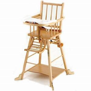 Chaise Haute Bébé Bois : chaise haute transformable en bois massif combelle ~ Melissatoandfro.com Idées de Décoration