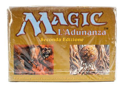 revised starter deck magic the gathering italian revised white bordered starter
