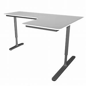 Bureau D Angle Ikea : objets bim et cao bekant bureau d 39 angle retour a droite ikea ~ Teatrodelosmanantiales.com Idées de Décoration