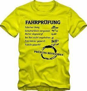 Geschenk Zum Führerschein : f hrerschein bestanden geschenk t shirt fahrschulpr fung ~ Jslefanu.com Haus und Dekorationen
