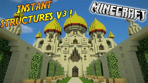 minecraft mod instant structures 1.7.10