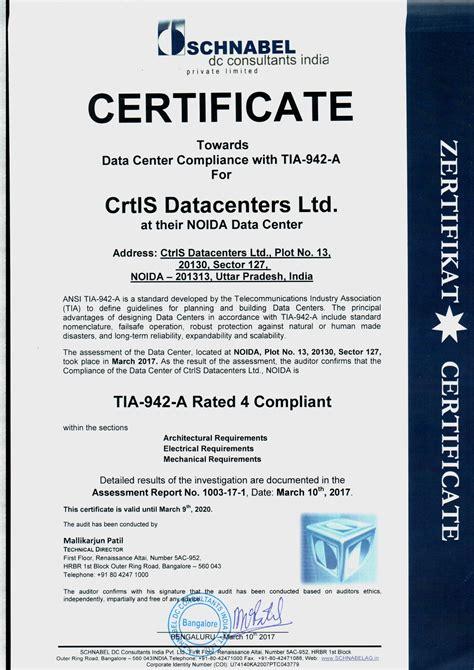 certifications ctrls awards