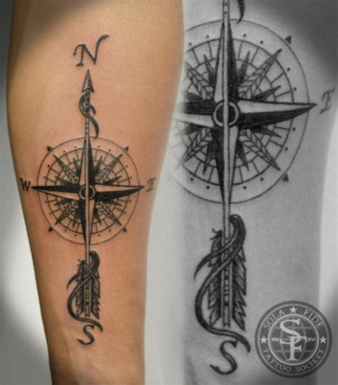 compass tattoos tattoofanblog