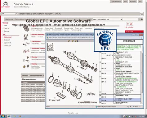 Citroen Service by Global Epc Automotive Software Citroen Service Box 11
