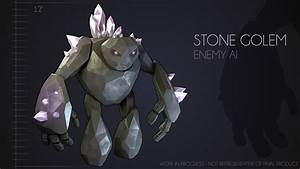 Stone Golem by Unfamillia on DeviantArt