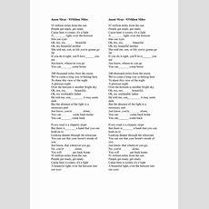 Song Worksheet 93 Miles By Jason Mraz