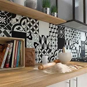 carrelage sol et carrelage mural leroy merlin With carreaux de ciment mural