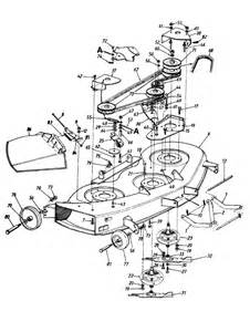Need Belt Install Diagram For Mastercraft 46 U0026quot  Hydrostatic