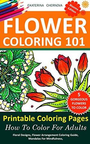 flower coloring  printable coloring pages