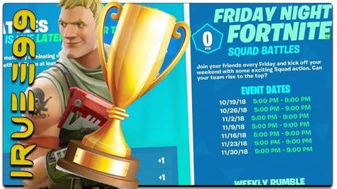 play  friday night fortnite tournament