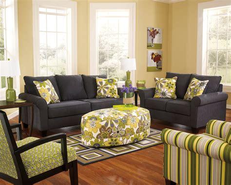 Nolana Charcoal Sofa Set nolana charcoal living room set 16501 38 35 furniture
