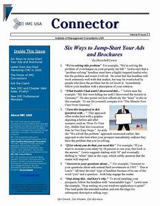 email marketing boiler plate newsletters free newsletter With newsletter outline template