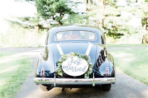 11 wedding car decoration ideas for a memorable send off