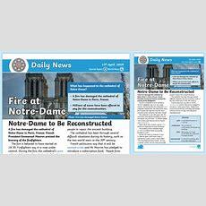 * New * Lks2 Notredame Fire Daily News Story