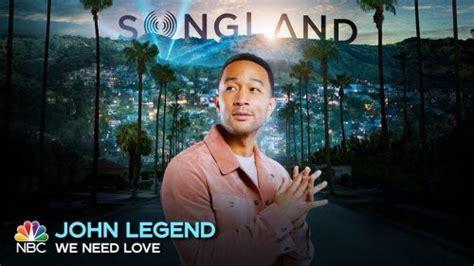 john legend  single   love  songland