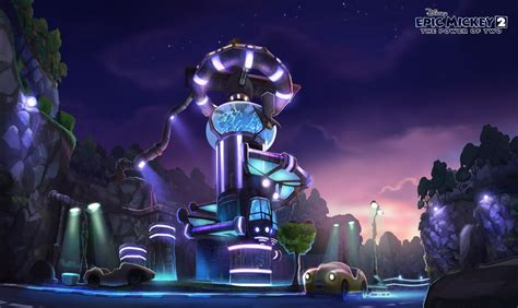 Kevin T Chins Art Journal Epic Mickey 2 Is Released