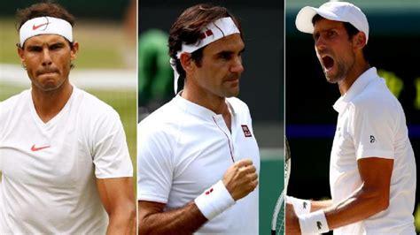 'Roger Federer, Nadal, Djokovic remain favourites in every ...