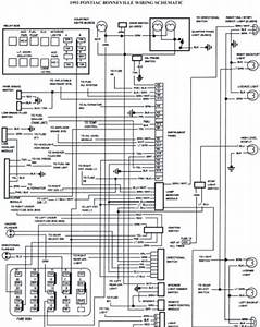 1993 Pontiac Bonneville Schematic Wiring Diagrams