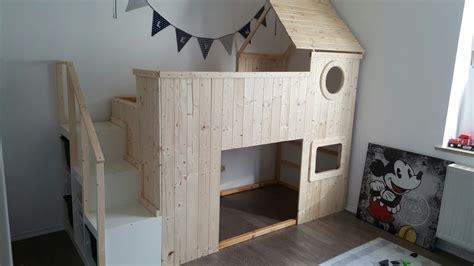 Ikea Hochbett Kinderbett by Ikea Kura Hack Diy Diy Design