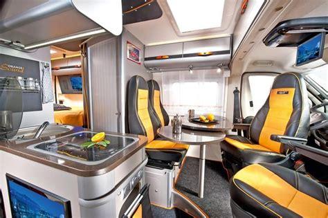Adria Twin Gt Campervan Interior, Built On A Fiat Ducato