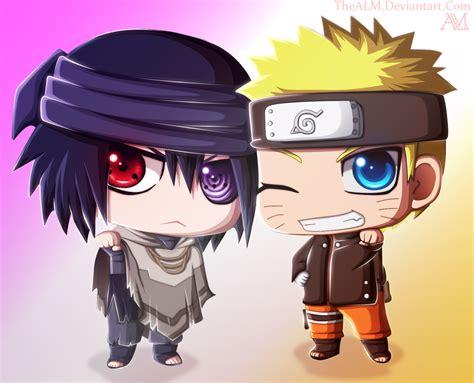 Naruto Sasuke Chibi The Last By Thealm On Deviantart